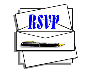 rsvp free printable party invitation template