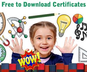 free printable blank pdf award certificates to print