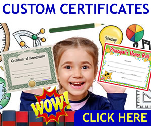 download custom award certificates for business and school