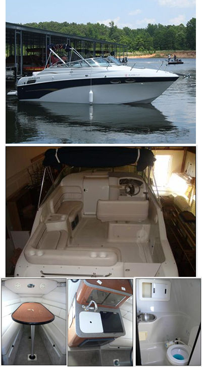 crownline 242 cr boat