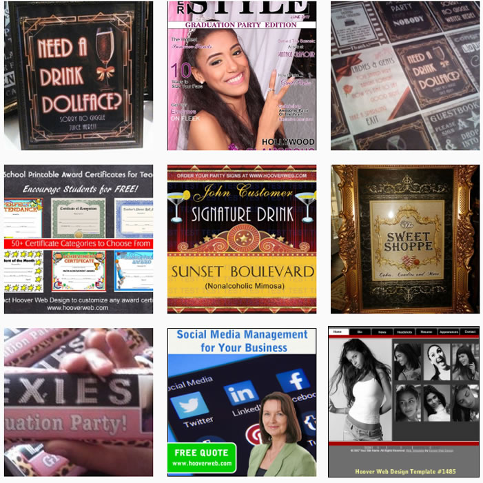 graphic design portfolio examples