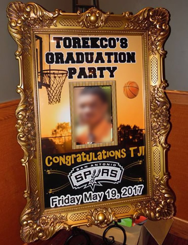 make your own graduation party sign