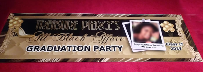 order 2x6 full color personalized custom party banners from hoover
